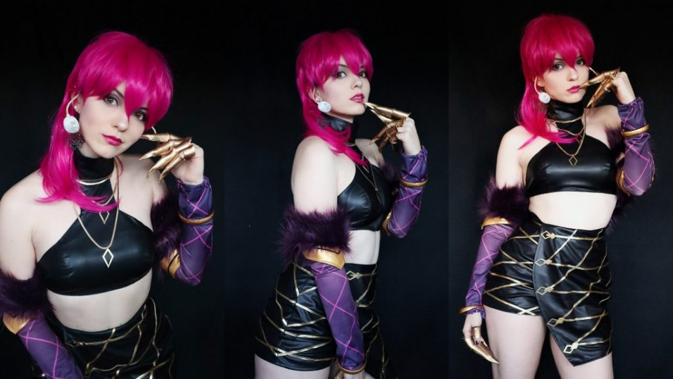 LOL KDA Evelynn Costume + Wig Review by Shiro Ychigo24