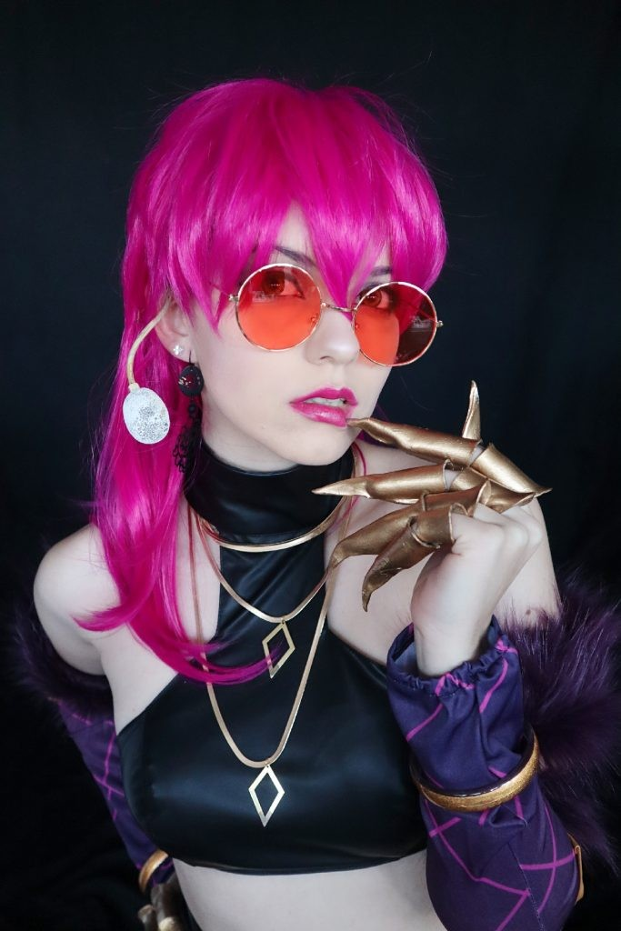 LOL KDA Evelynn Costume + Wig Review by Shiro Ychigo25