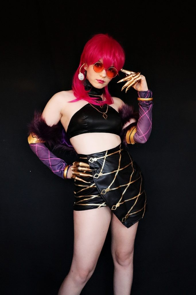 LOL KDA Evelynn Costume + Wig Review by Shiro Ychigo26