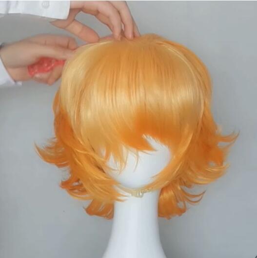 The promised neverland, Emma wig tutorial 2