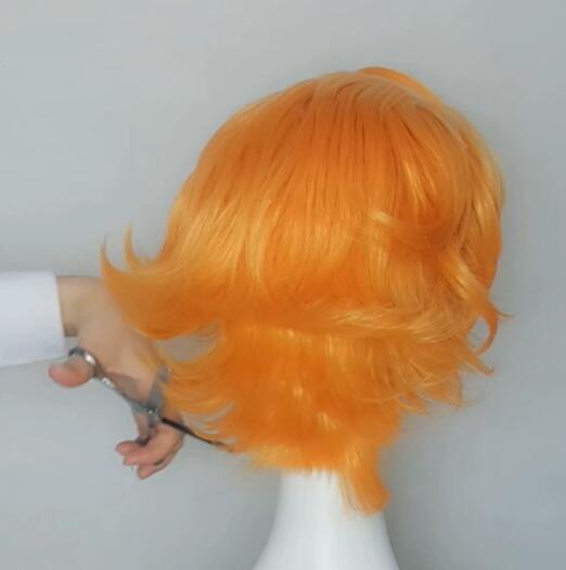 The promised neverland, Emma wig tutorial 4