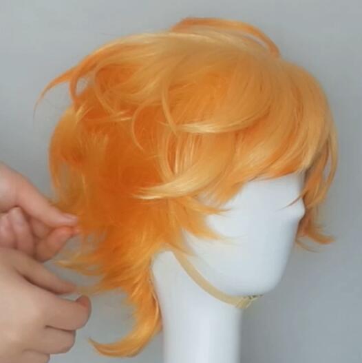 The promised neverland, Emma wig tutorial 5