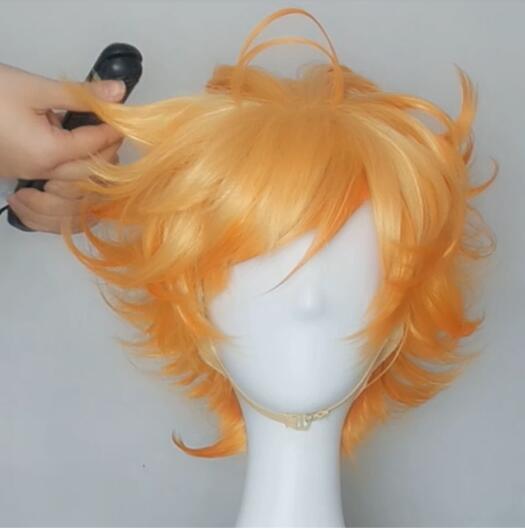 The promised neverland, Emma wig tutorial 6