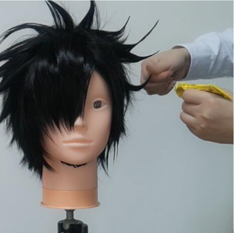 The promised neverland, Ray wig tutorial6