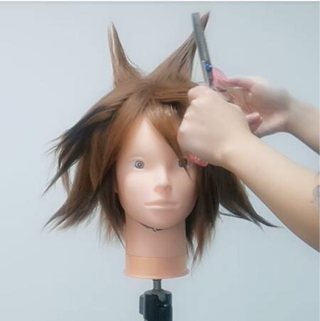 Wig Tutorial - Kingdom Hearts III Sora (3)
