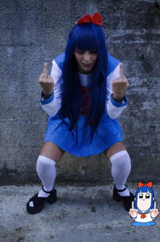 POP TEAM EPIC Pipimi Cosplay Review By kvnai 8