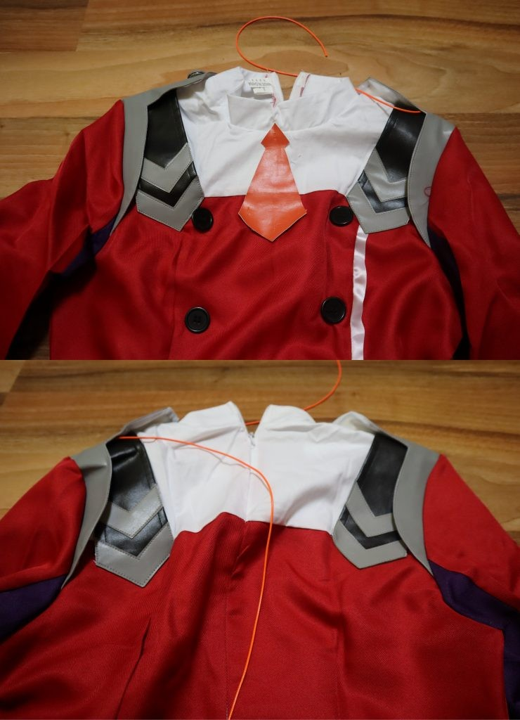 Darling in the Franxx Zero Two costume Review6