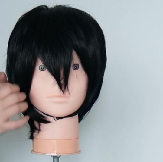 The Rising of the Shield Hero Naofumi Iwatani Wig Styling Tutorial-2