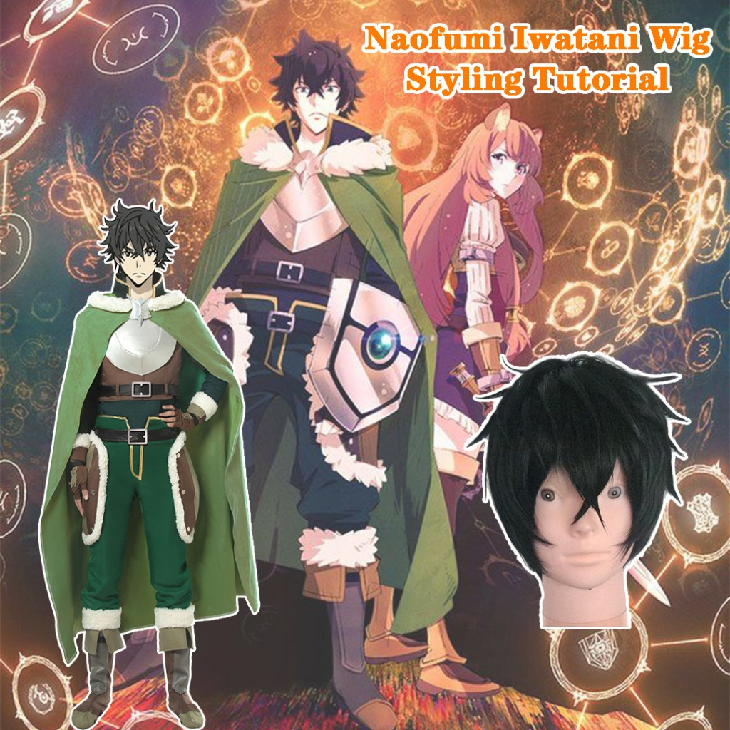 The Rising of the Shield Hero Naofumi Iwatani Wig Styling Tutorial-9