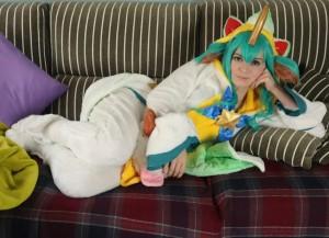 LOL Pajama Guardians Soraka Cosplay Review-15