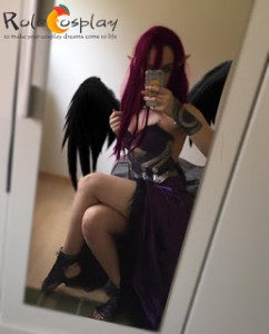 LOL Morgana Cosplay Costume Review by xadcosplay2