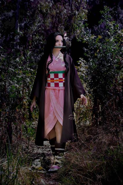 Demon Slayer Nezuko Cospaly Review by Karen Kasumi2