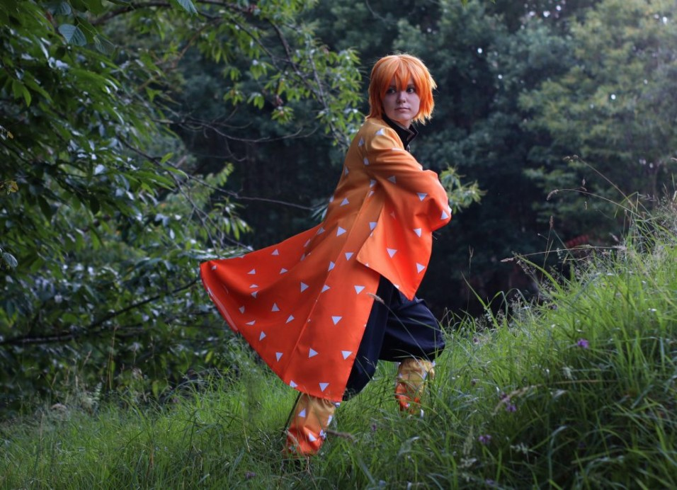 Zenitsu Agatsuma Cosplay Review by SHIRO YCHIGO 12