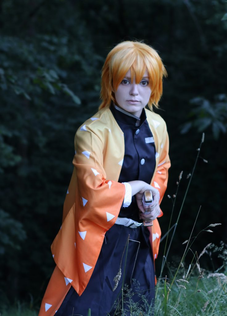 Zenitsu Agatsuma Cosplay Review by SHIRO YCHIGO 13