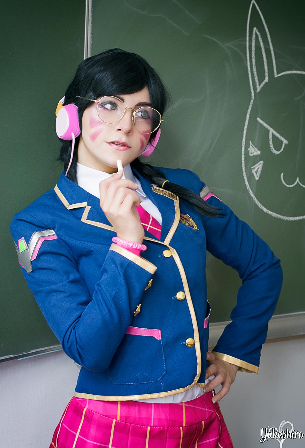 OW Academy D․Va Uniform Review by Yukeshiro (1)