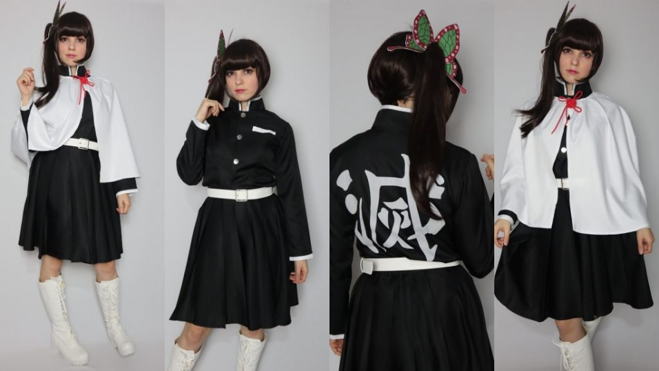 Demon Slayer Kanao Tsuyuri Cosplay Review-16