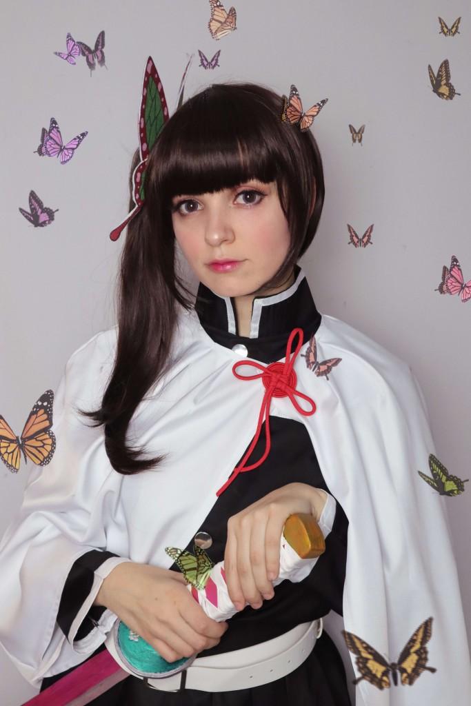 Demon Slayer Kanao Tsuyuri Cosplay Review-20