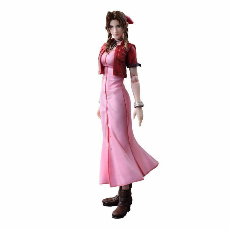 Final Fantasy VII 7 Aerith Cosplay Costume Review-9