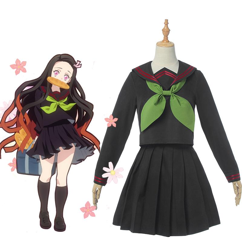 Nezuko Kamado School Uniform Review by poterista (11)