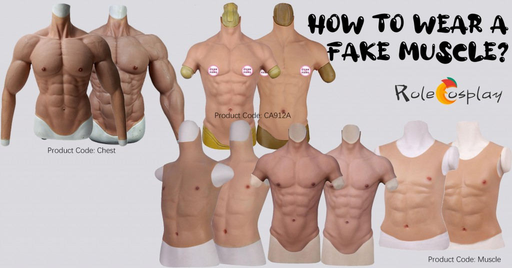 How to Wear A Fake Muscle for Cosplay (10)