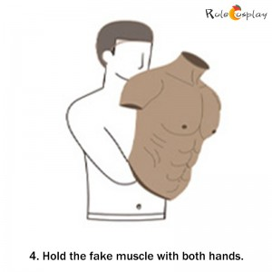 How to Wear A Fake Muscle for Cosplay (5)