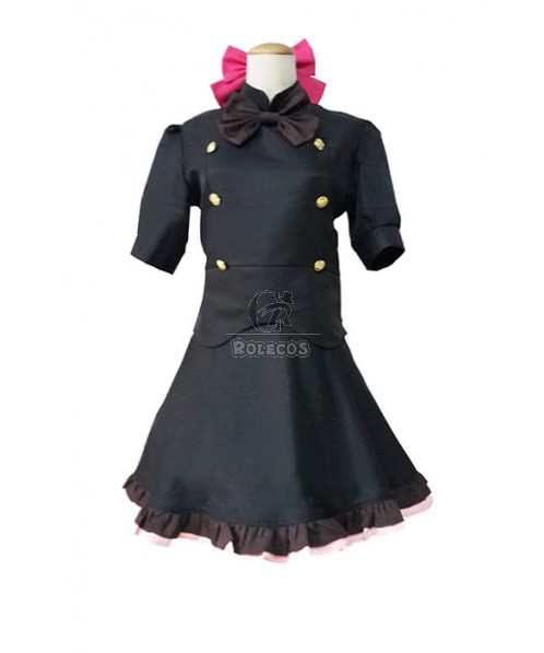 Blood Blockade Battlefront Aligula Cosplay Costume