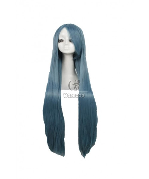 100cm supper long Cosplay wig aqua Anime Straight party hair