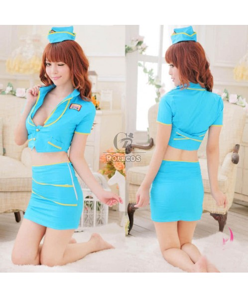 Women's Sexy Mod Flight Attendant Costume So fashion uniform