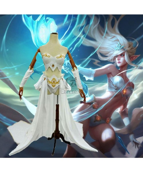 LOL Forecast Janna Cosplay Costume