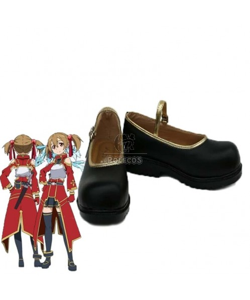 Sword Art Online SAO Cait Sith Silica Keiko Ayan Cosplay Shoes For Costume