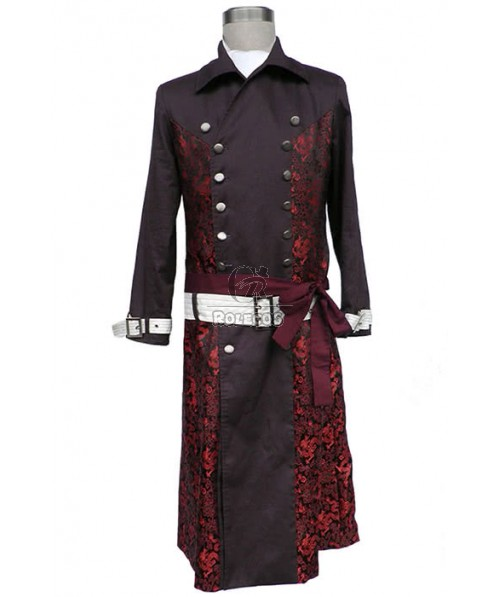 Hakuouki Kazama Chikage 1st Version Cosplay Costume Custom Made