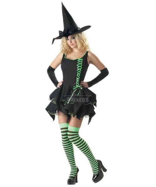 sexy witch Halloween costume adult wear party fun cosplay dress