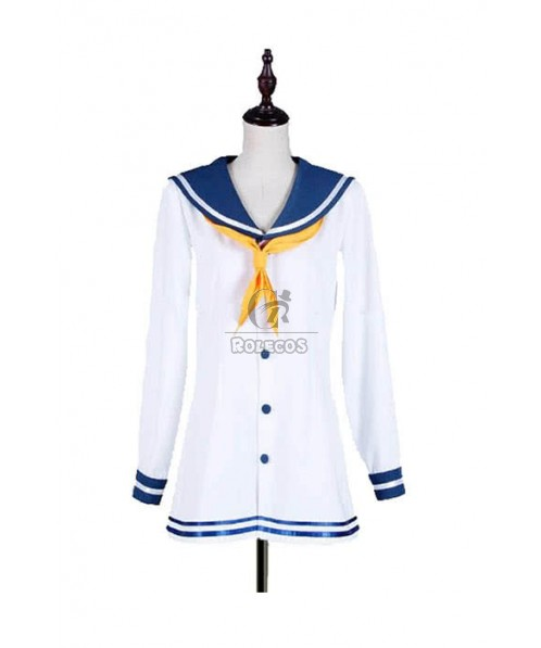 Kantai Collection The Kagerō class Destroyer Snowy Wind Cosplay Costume