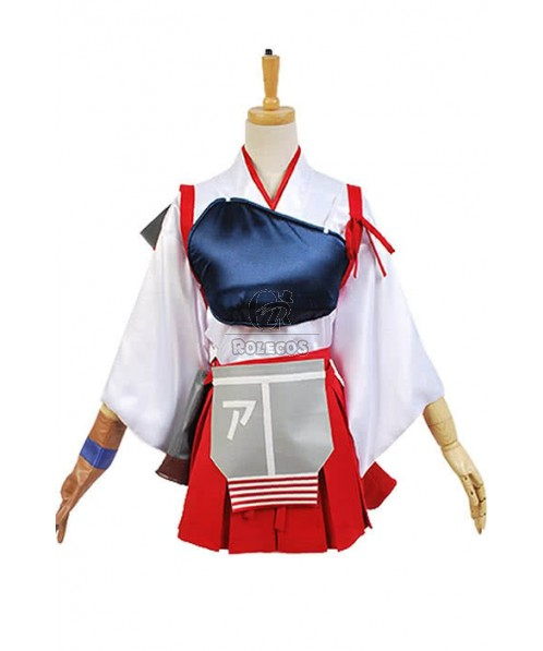 Kantai Collection Akagi Cosplay Costume Full Set