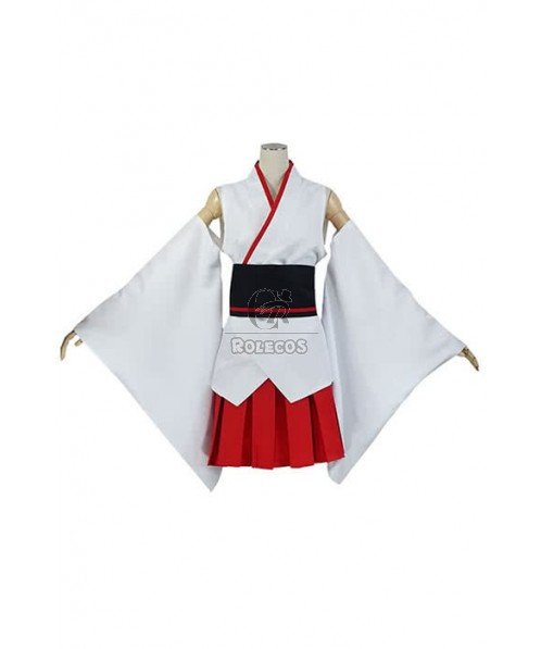Kantai Collection Fuso Cosplay Costume