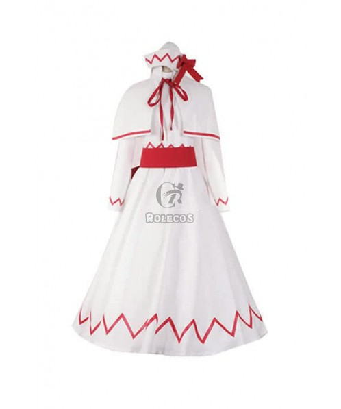 Touhou Project Lily White Cosplay Costume