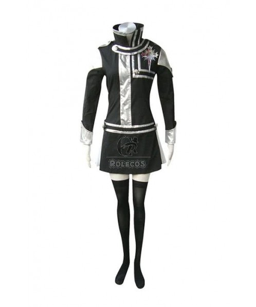 D.Gray-man Lenalee Lee Exorcist 1st Cosplay Costume