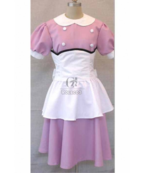 BioShock Infinite Light Purpe Dress Suit Cosplay Costume
