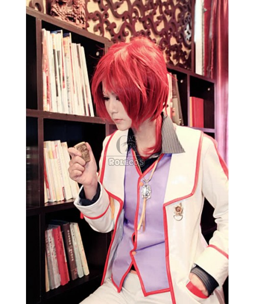The Legend Of Heroes Randy Orlando White Suit Cosplay Costume