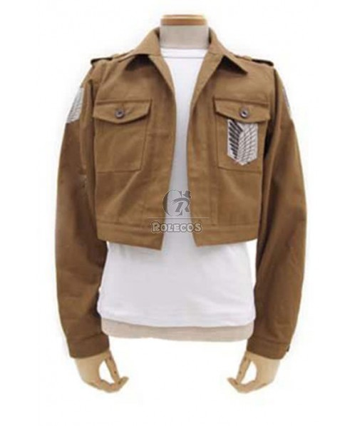 Attack on Titan The Recon Corps Wings of Freedom Boy's Jaket Cosplay Costume