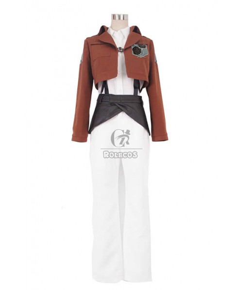 Attack On Titan Stationed Corps Rosa rugosa Uniform Cosplay Costme