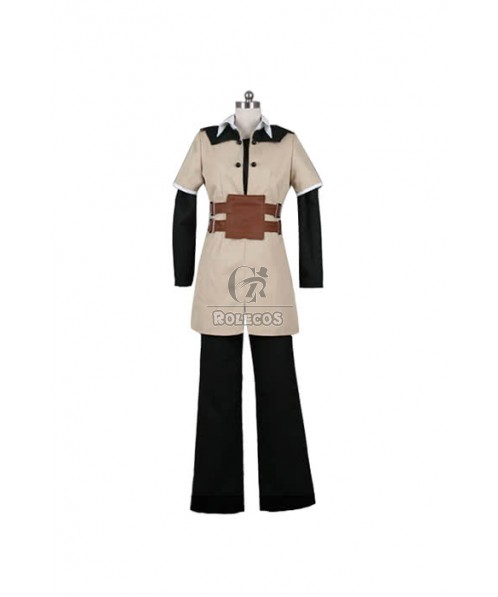 Tales Of The Abyss Uniform For Men Armor Cosplay Costume