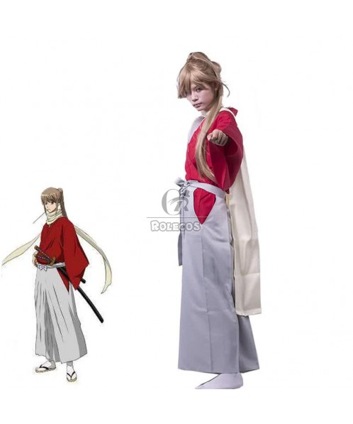 Anime Gintama Okita Sougo Cosplay Costume Outfit kimono Any Size