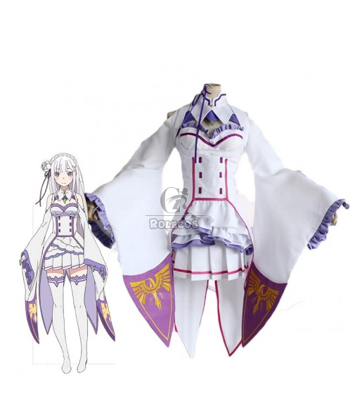 Re: Life in a Different World from Zero Emilia Dresses Cosplay Costumes