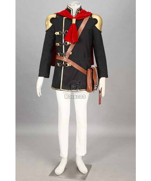 Final Fantasy: Type-0 Suzaku Group 0 ACE Trump Suit Cosplay Costumes