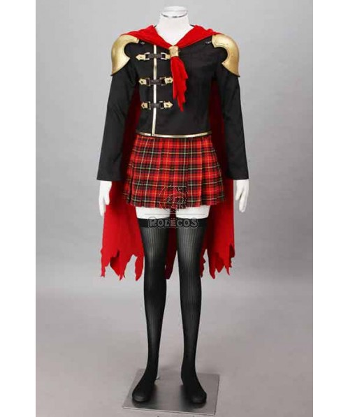 Final Fantasy: Type-0 Suzaku Group 0 Sice Suit Cosplay Costumes