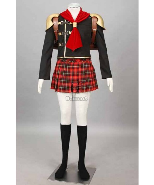 Final Fantasy: Type-0 Suzaku Group 0 Cater Suit Cosplay Costumes