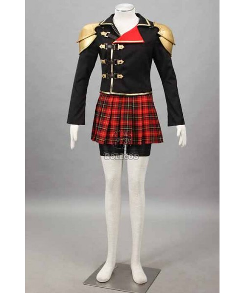 Final Fantasy: Type-0 Suzaku Group 0 Seven Suit Cosplay Costumes