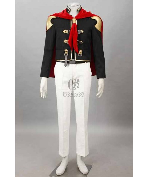 Final Fantasy: Type-0 Suzaku Group 0 King Suit Cosplay Costumes