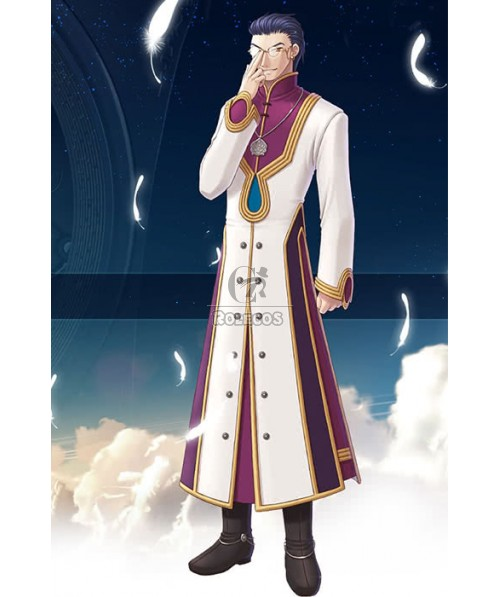 The Legend Of Heroes Georg Weismann The Faceless Robe Cosplay Costume